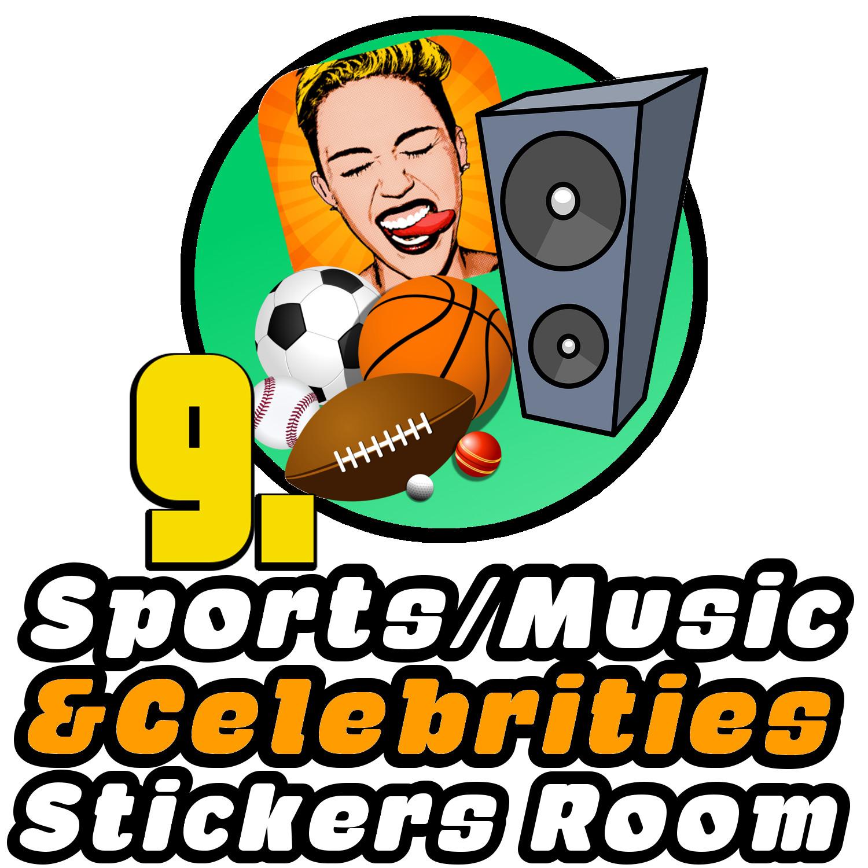 Sports/Music & Celebs stickers telegram
